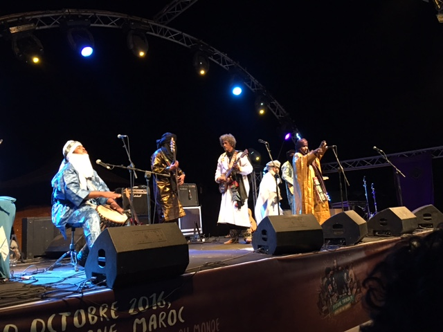 Tinariwen tijdens Festival Taragalte
