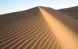 woestijnduin in Zuid-Marokko